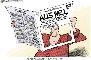 שקיפות עיתון